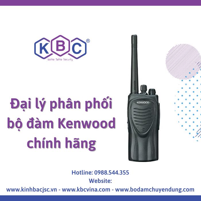 KBC - Đại lý phân phối bộ đàm Kenwood chính hãng